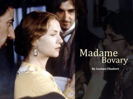 Madame Bovary Essay Titles