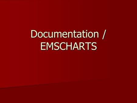 Documentation / EMSCHARTS