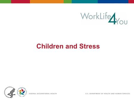 Children and Stress. Define stress for a child Facts Not seeing eye to eye What are the signs? What triggers stress for your child? Objectives Behaviors.
