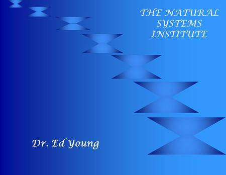 Dr. Ed Young THE NATURAL SYSTEMS INSTITUTE edyoung, PhD, copyright 6-1999 2 Table of Contents for Solutions to School Violence Summary of 2 Underlying.