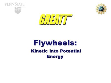 Kinetic into Potential Energy