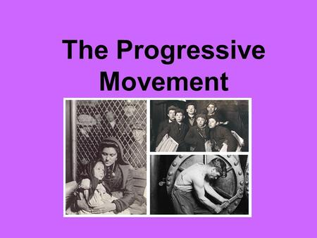 An analysis of the progressive era between 1890 and 1920