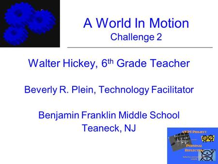 A World In Motion Challenge 2