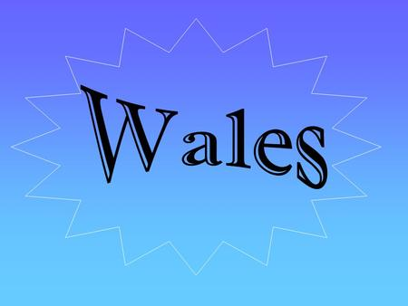 Wales is a fairly small country, covering an area of 21,000km 2.