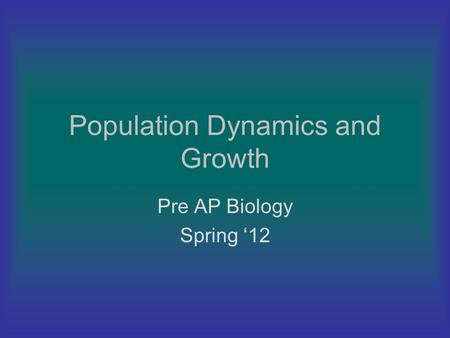 pre ap biology Prerequisite: grade of b or above in methods of science or appropriate placement test score, grade of b or better in pre-ap english or grade of a in english and teacher approval this rigorous introduction to biology will develop a student's appreciation for life.