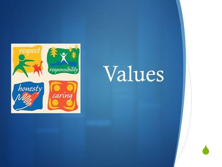  Values. What are values?  Values: the underlying system of beliefs about what is important in life to a person.