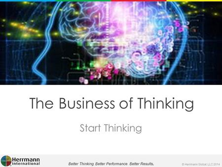 The Business of Thinking