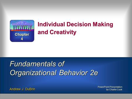 creativity and decision making Creativity identify business settings where critical thinking may be applied to contingency planning describe methods of incorporating creativity into the decision making process.
