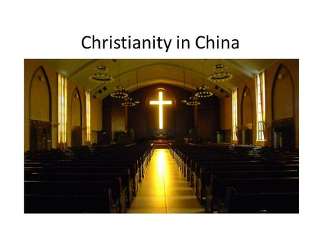 Christianity in China.  Christians believe that Jesus was the Messiah promised in the Old TestamentJesusOld Testament  Christians believe that Jesus.