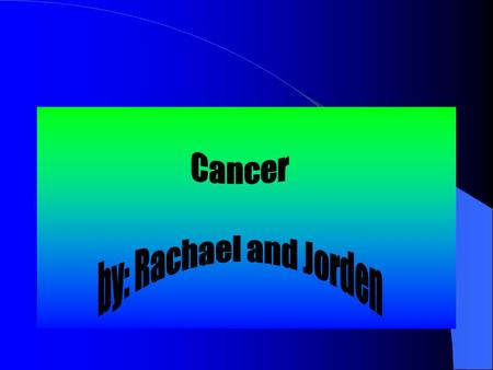 "Cancer Cancer is the uncontrolled growth of abnormal cells in the body Cancer occurs when the cells divide too rapidly. Also when cells ""forget"" to die."