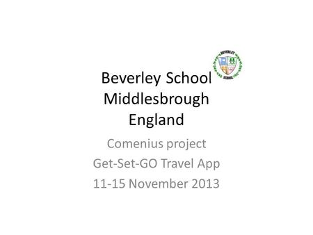 Beverley School Middlesbrough England