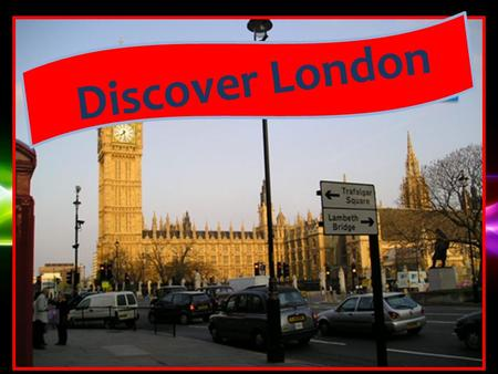 Powerpoint Templates Discover London. Powerpoint Templates.