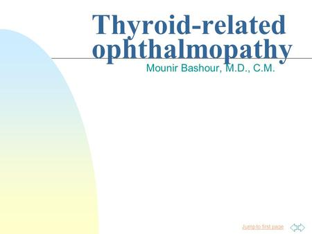 Thyroid-related ophthalmopathy