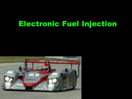 Electronic Fuel Injection Vocabulary 1.Injector (solenoid ) 9.)emission standards 2.Stoichiometric14.7 to 1 3.Throttle body of injection 4.Port injection10.)Types.