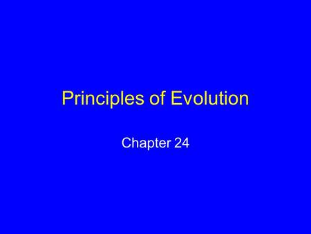 Principles of Evolution Chapter 24. Classification of Humans KingdomAnimalia PhylumChordata ClassMammalia OrderPrimates FamilyHominidae GenusHomo Species.