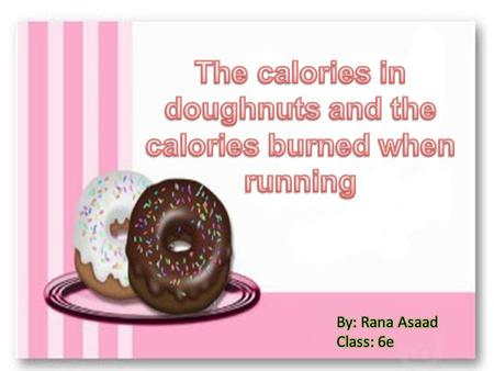 How many calories are there in a krispy cream doughnut?