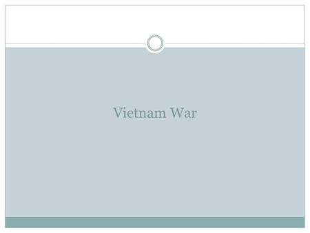 Vietnam War. I. Early Conflicts in Vietnam A. Early Control of Vietnam 1. French Take Over  1883 France takes over Vietnam  Combined Vietnam, Lao,