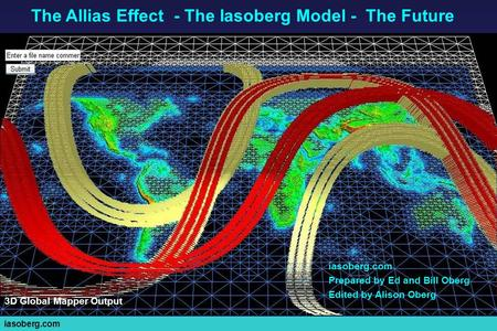 Iasoberg.com Prepared by Ed and Bill Oberg Edited by Alison Oberg The Allias Effect - The Iasoberg Model - The Future 3D Global Mapper Output.