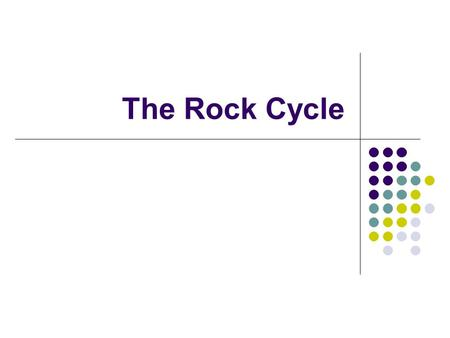 "The Rock Cycle. ""Da Rock Cycle""  7eY."