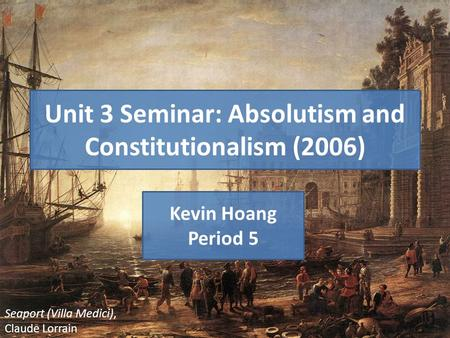 absolutism vs constitutionalism Essay about absolutism vs constitutional monarchy 1360 words | 6 pages been altered absolutism and constitutionalism essay 2759 words | 12 pages.
