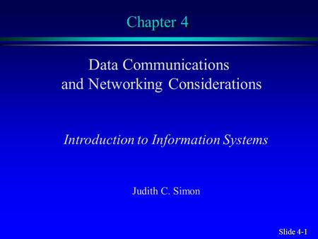 chapter 1 introduction to electronic communication 1 18 Chapter contents 11 a brief history of computing  •communication among components is handled by a shared  1-18 chapter 1 - introduction.