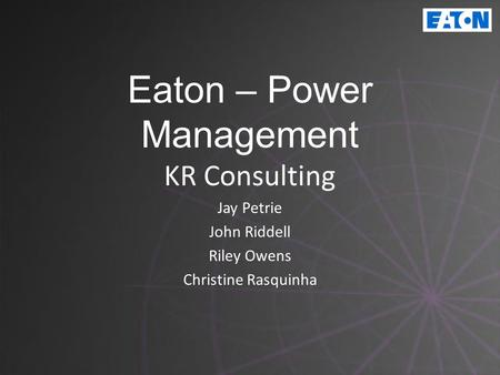 Eaton – Power Management