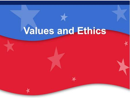 Values and Ethics EDU 131 Constitution Day 15 Sept 2006.