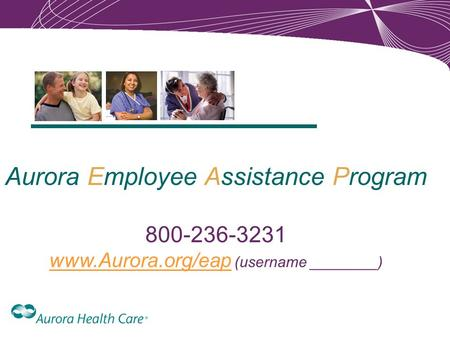 Aurora Employee Assistance Program