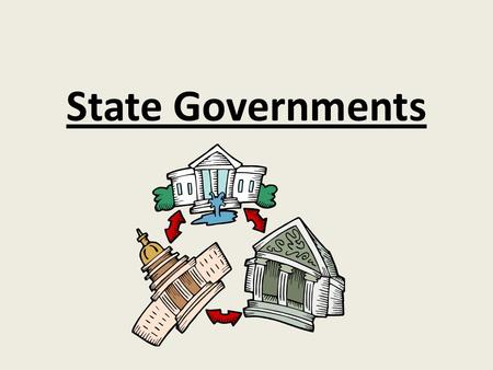 State Governments. Any powers not given to the government belong to the or the people. These are called they are reserved or set aside for the states.