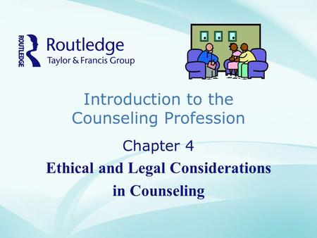 Ethical and legal level of counseling