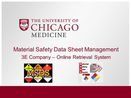 Material Safety Data Sheet Management 3E Company – Online Retrieval System.