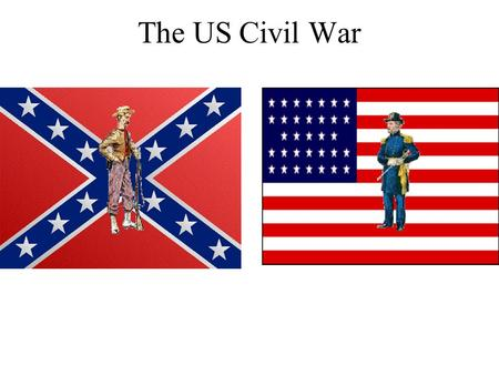 The US Civil War. Causes By the 1850's, the US was divided between free states in the north and slave states in the south. The south wanted slavery to.