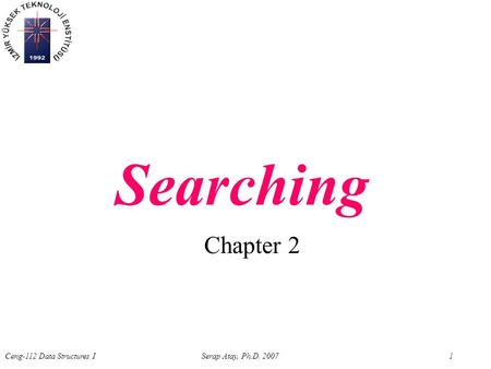 Searching Chapter 2.