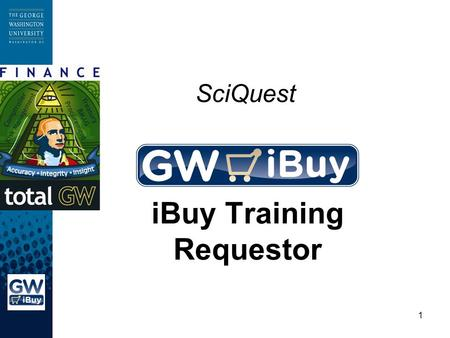1 SciQuest iBuy Training Requestor. 2 Introductions Introduction of Instructor Expectations.
