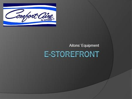 Aitons' Equipment. Type in your user name and password And click sign in Hit enter for next page.
