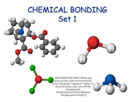 chemical bond essay Essay on ion and ionic bonding in chemical bonds, atoms can either transfer or share their valence electrons in the extreme case where one or more atoms lose.