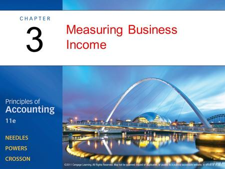 Measuring Business Income 3. Profitability Measurement: Issues and Ethics OBJECTIVE 1: Define net income, and explain the assumptions underlying income.