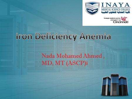 Www.free-ppt-templates.com Nada Mohamed Ahmed, MD, MT (ASCP)i.