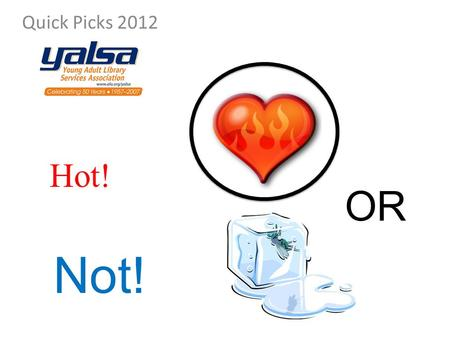 Quick Picks 2012 Hot! Not! OR. Step in to street art scenes all over the world. Not! OR.