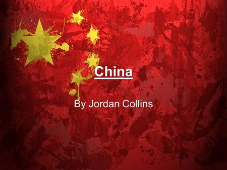 China By Jordan Collins. Money!!! The Chinese have money called Yuan. These are coins and notes of Chinese Yuan.