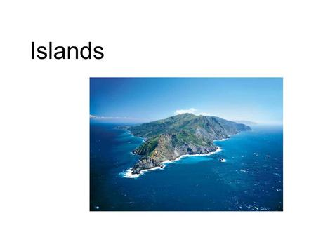 Islands. Islands can serve almost as a laboratory for the study of biogeography. The biota of an island is simpler than that of a continental area, and.
