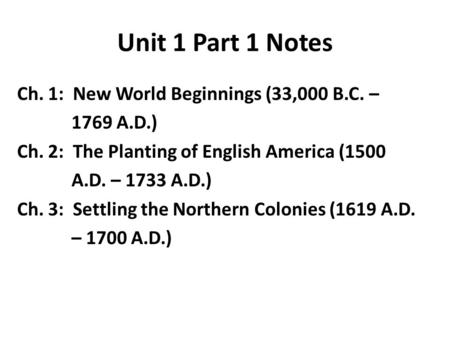 the planting of english america 1500 1733 Dan herber period 2 ritter chapter 2 the planting of english america 1500-  1733 i england's imperial strings • the 1600's brought three powers to plant.
