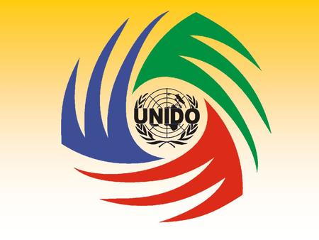 UNITED NATIONS INDUSTRIAL DEVELOPMENT ORGANIZATION UNIDO ~ UNITED NATIONS INDUSTRIAL DEVELOPMENT ORGANIZATION ~ UNIDO ~ UNITED NATIONS INDUSTRIAL DEVELOPMENT.