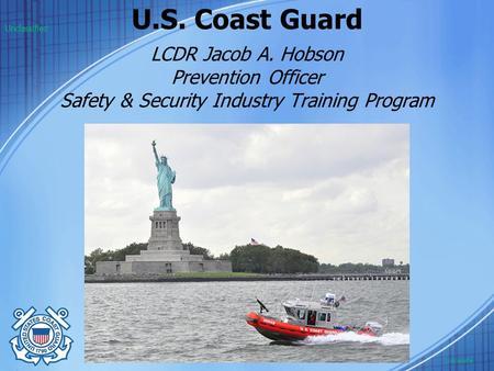 U.S. Coast Guard Unclassified