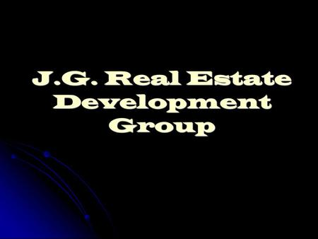J.G. Real Estate Development Group. Appraisal: $250,000 Offer: $240,000 Improvements: $15,000 Adjusted market value: $275,000 4380 NW 12 Dr. Deerfield.