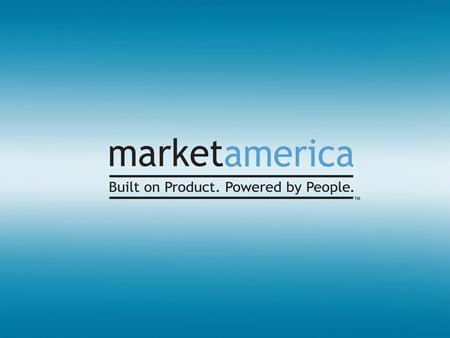 Market America's Mission Statement