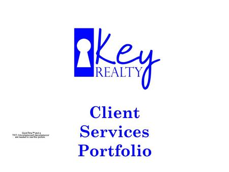 "Client Services Portfolio. * Searching for advertised properties? * Looking for properties with "" For Sale "" signs? * Talking to several agents? What."