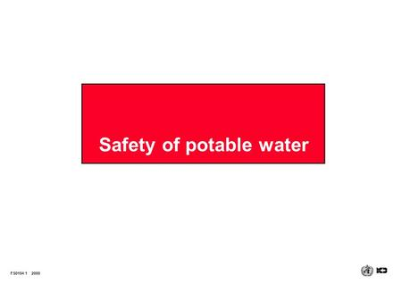 Safety of potable water FS0104 12000. Demand for water Some compelling statistics  human water use has increased more than 35-fold over the past three.