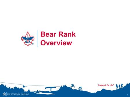 1 Bear Rank Overview. Bear Rank Overview - Objectives By the end of the session, participants will… Understand and communicate to others the updated requirements.