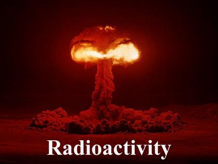 Radioactivity. The word radiation means the flow of energy through space. There are many forms of radiation. Light, radio waves, microwaves, and x-rays.